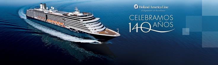 Holland America Celebra su 140º Aniversario
