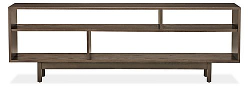 The Dahl media console adds architectural, modern storage to any room in your home. Inspired by Scandinavian design, Dahl is made in Pennsylvania from domestically sourced solid ash and ash veneer, and is designed to look just as beautiful against a wall or function as a creative room divider. Its understated character highlights the beauty of the personal items you choose to display.