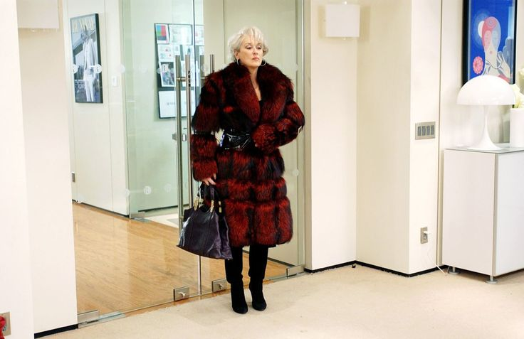 Meryl Streep as Miranda Priestly;  2006 The Devil Wears Prada; 1500x973px