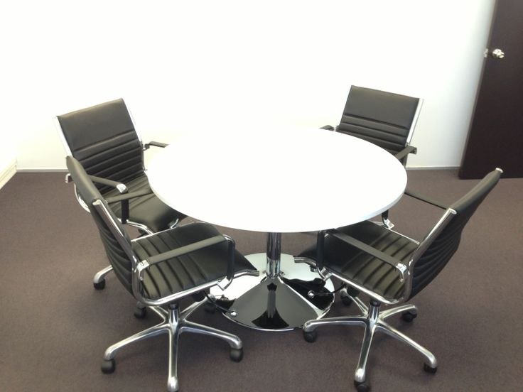 Table & chairs for ICMS, cheers David!