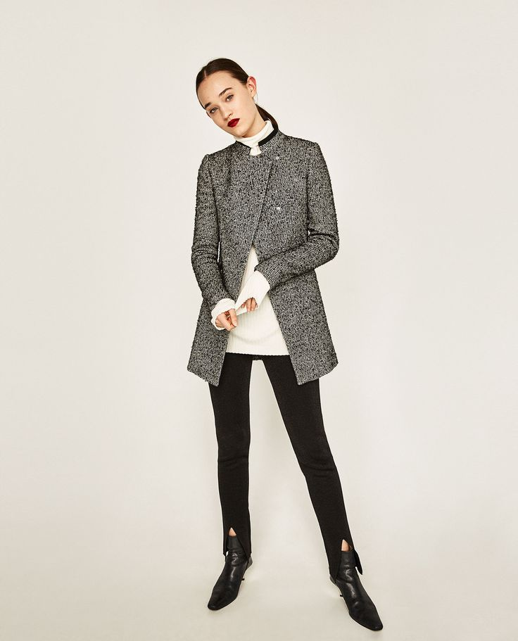 Image 1 of CROSSOVER FROCK COAT from Zara