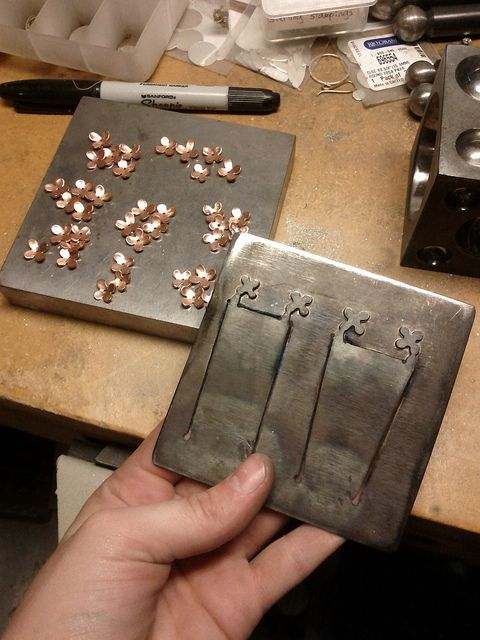 25 best hydraulic press images on pinterest jewelery jewellery a pancake die for my little flowers i cant tell you how life changing it is ccuart Choice Image