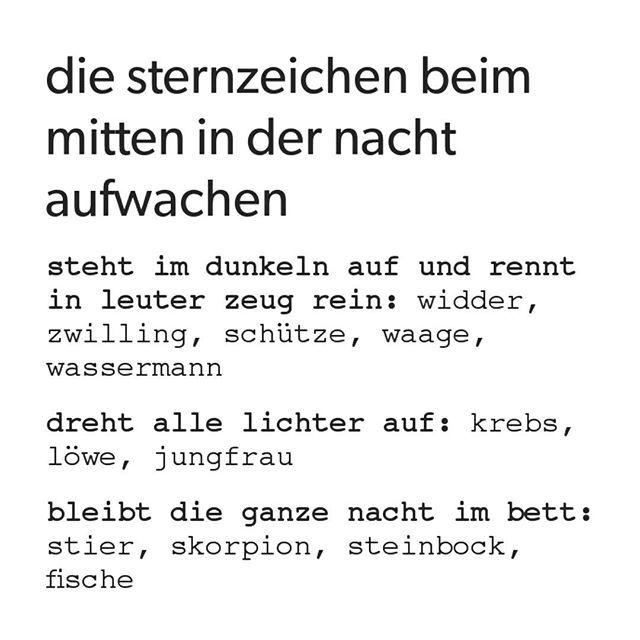 waage #löwe #zwilling #faul #wassermann #fische #steinbock #nacht #lustig #peinlich #schütze #schlafen #sternzeichen #widder #jungfrau #skorpion #krebs #horoskop #stier #mittenindernacht