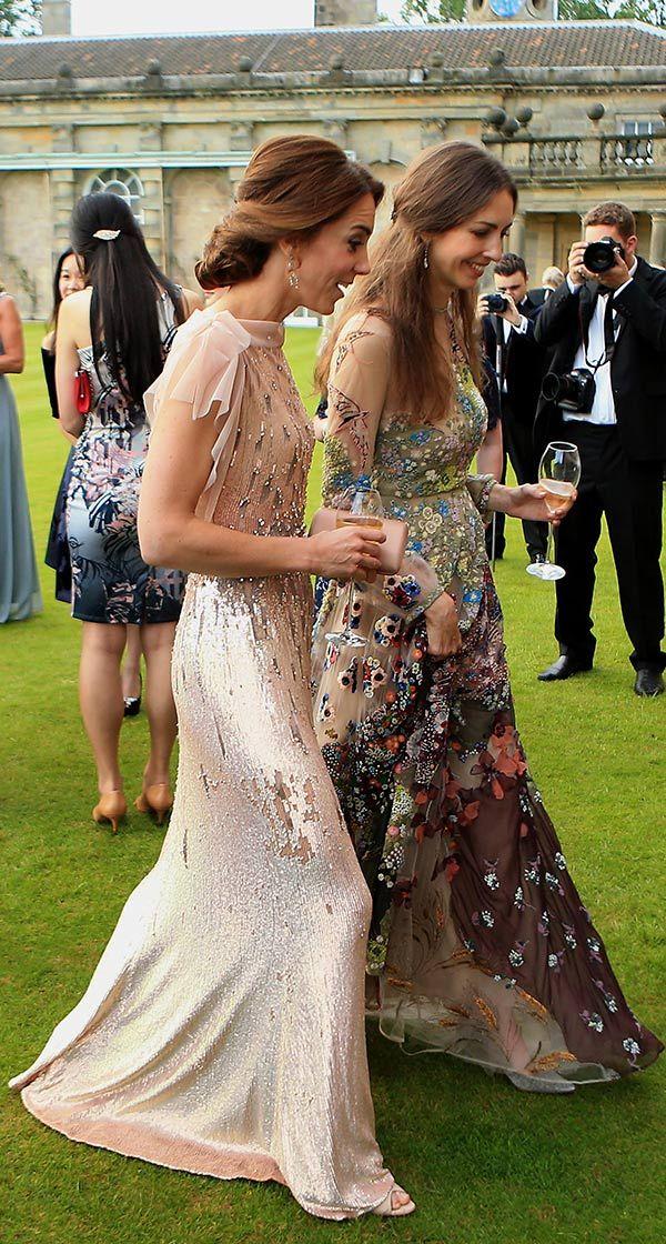 ¿Quién es la nueva y glamurosa amiga de la Duquesa de Cambridge?