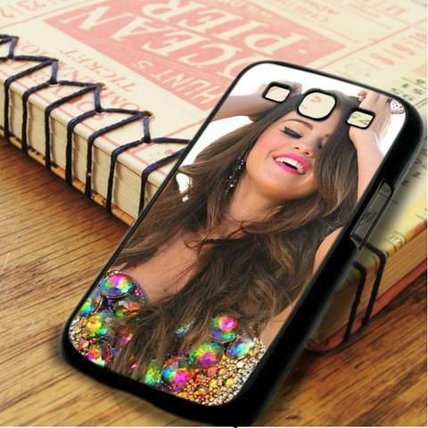 Selena Gomez Smiley Cute Samsung Galaxy S3 Case