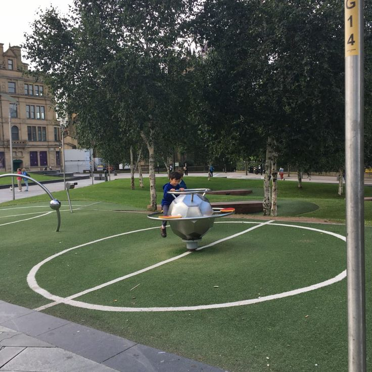 Playground at the national football museum