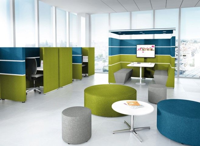 Bright And Funky Office Furniture
