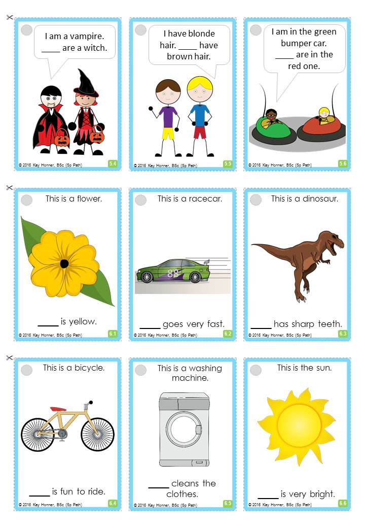 Subjective PRONOUNS Card Deck. Includes: he : she : they : I : you : it : we; Pronoun cue cards; Pronoun Chart; Activity & Carryover Ideas.