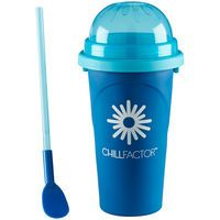 Chill Factor Squeeze Cup Slushy Maker - Blue: Chill Factor Squeeze cup Slushy Maker is a unique slushy maker… #UKOnlineShopping #UKShopping