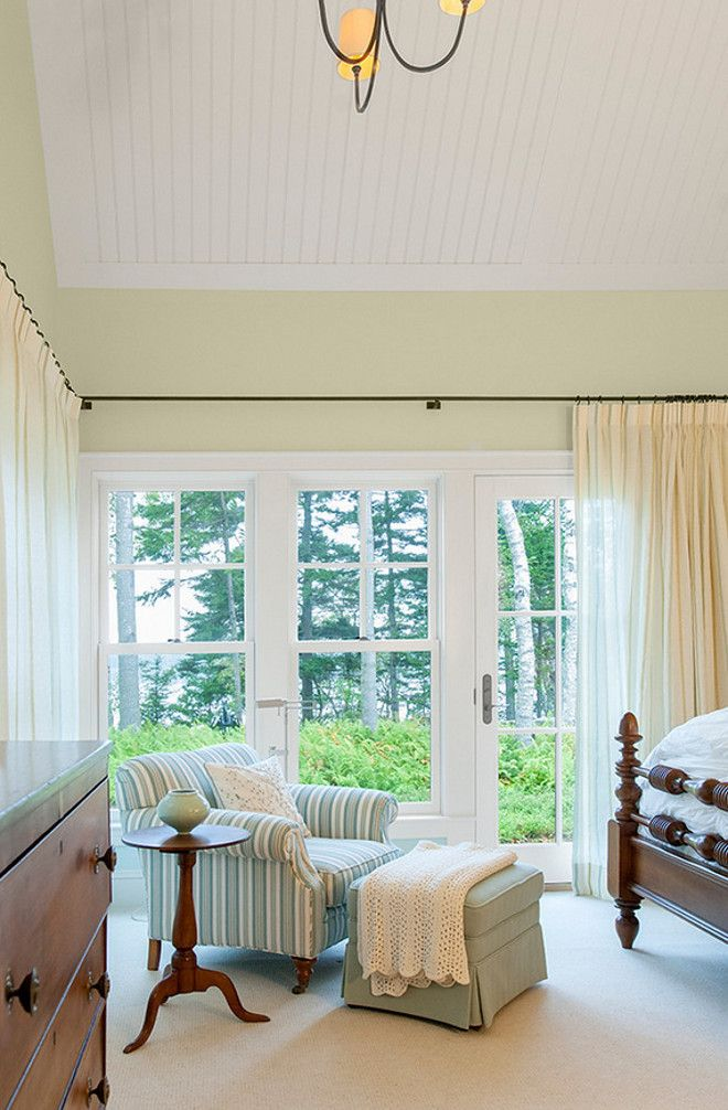Maine Beach House With Classic Coastal Interiors. Master Bedroom  DesignBedroom DesignsMaster BedroomsBedroom IdeasHarpswell MaineFarmhouse  ...