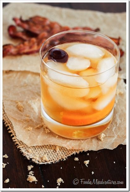 Brown Sugar Bacon Old Fashioned | The Marvelous Misadventures of a Foodie