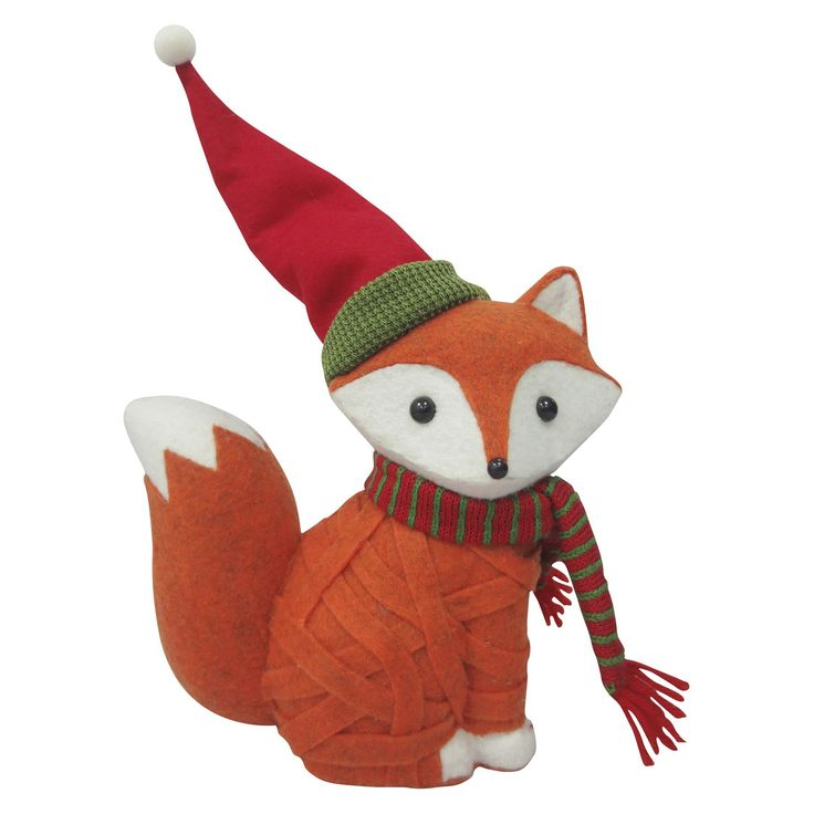 Christmas Outdoor Decorations Target: Holiday Large Decor Fox : Target