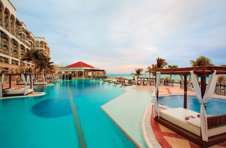 Make Mexico memorable at our adults-only oceanfront resort. Enjoy relaxing cabanas, sparkling pools and a swim-up bar during a refreshing stay. Book Cancun for a luxury all-inclusive oasis. |  Hyatt Zilara Cancun