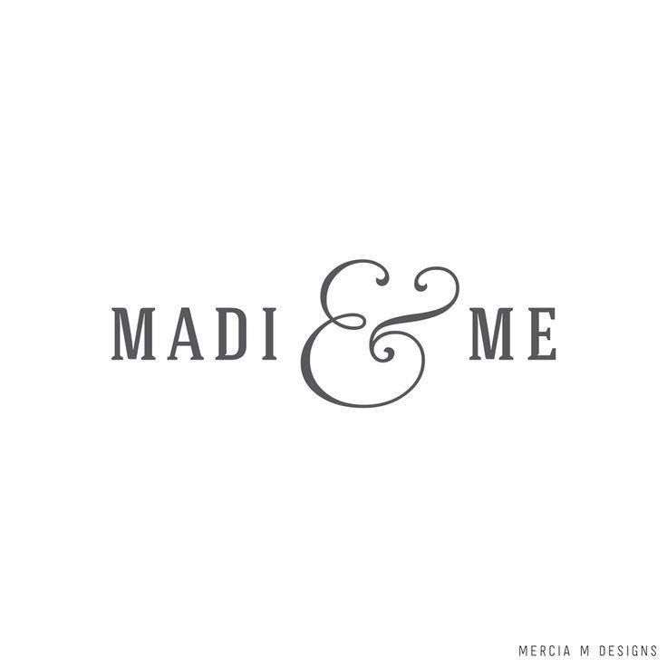Madi & Me Logo Design by Mercia M Designs