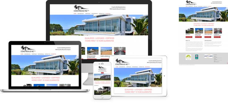 Coast Build - website design by Forge Online http://www.forgeonline.co.nz/website-design-company/