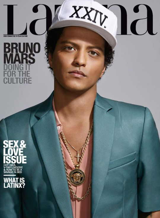 Why did they put him on the cover of LATINA magazine??? Because he was born a woman