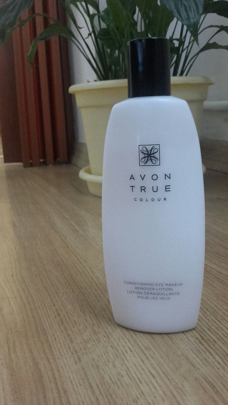 Avon, True Colour, Conditioning eye makeup remover lotion