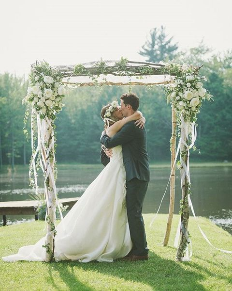 25 Chic And Easy Rustic Wedding Arch Ideas For Diy Brides: Best 25+ Indoor Wedding Arches Ideas On Pinterest