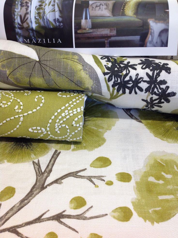 #amazilia #harlequin #fabrics ! #green #colorful