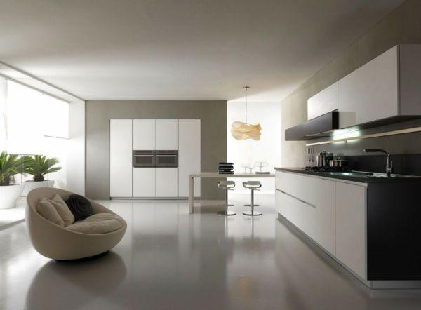 112 best Minimalistische Küche images on Pinterest Minimalist - küchenzeile weiß hochglanz