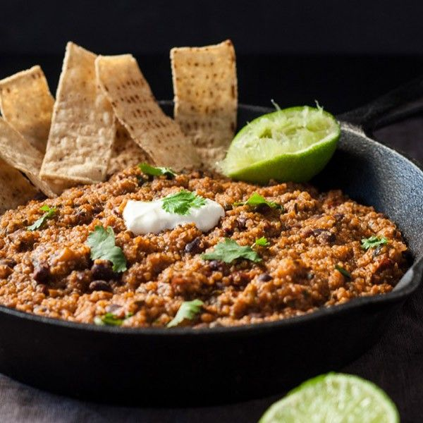 One Dish Mexican Quinoa  | Honest to Goodness