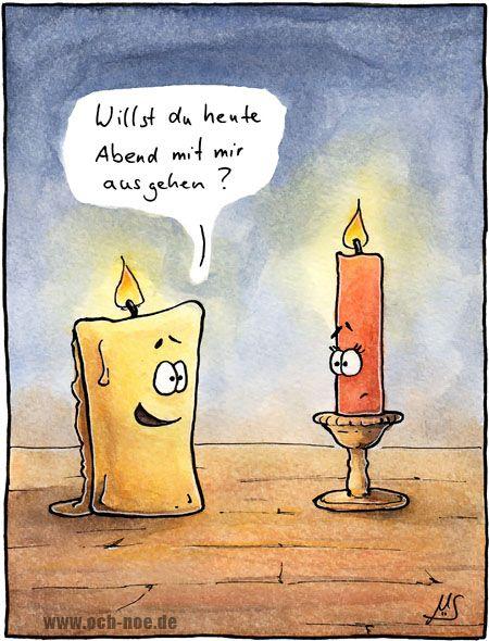 Anmachsprüche für Kerzen :D www.och-noe.de - Cartoons