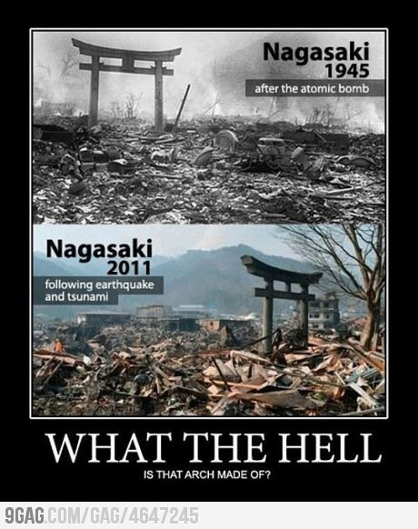 What the f**k is that made of? Japanese hope, strength and resilience.