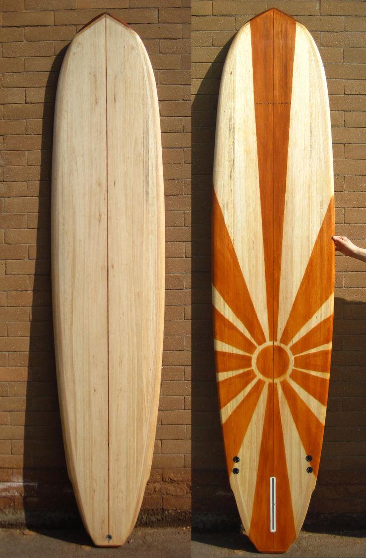 Tabla de surf madera de balsa 8 39 lovetillysboardhouse for Tablas de madera