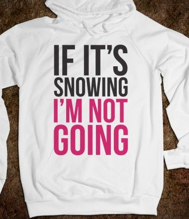 If It's Snowing - Winter - Skreened T-shirts, Organic Shirts, Hoodies, Kids Tees, Baby One-Pieces and Tote Bags Custom T-Shirts, Organic Shirts, Hoodies, Novelty Gifts, Kids Apparel, Baby One-Pieces | Skreened - Ethical Custom Apparel