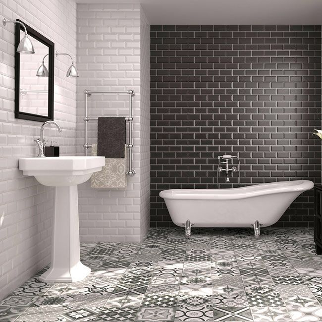 Bathroom Ideas Metro Tiles 75 best bathroom ideas images on pinterest | bathroom ideas