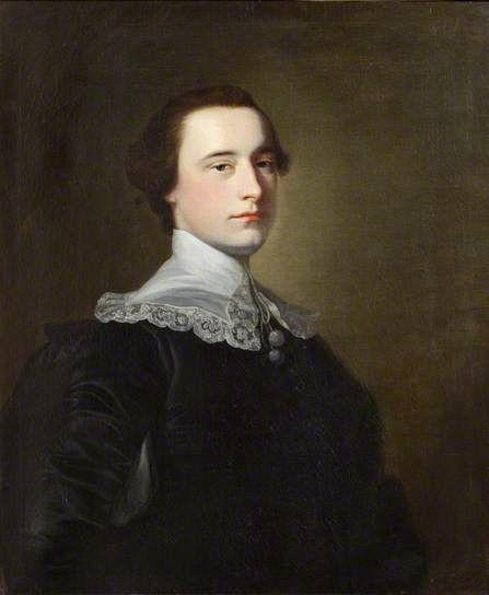 """Portrait of a Gentleman"", Thomas Hudson, ca. 1750; GAC 708"