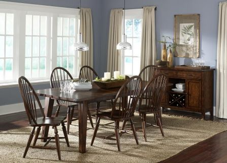 Classic Collins Dining Leg Table   Decorium.com