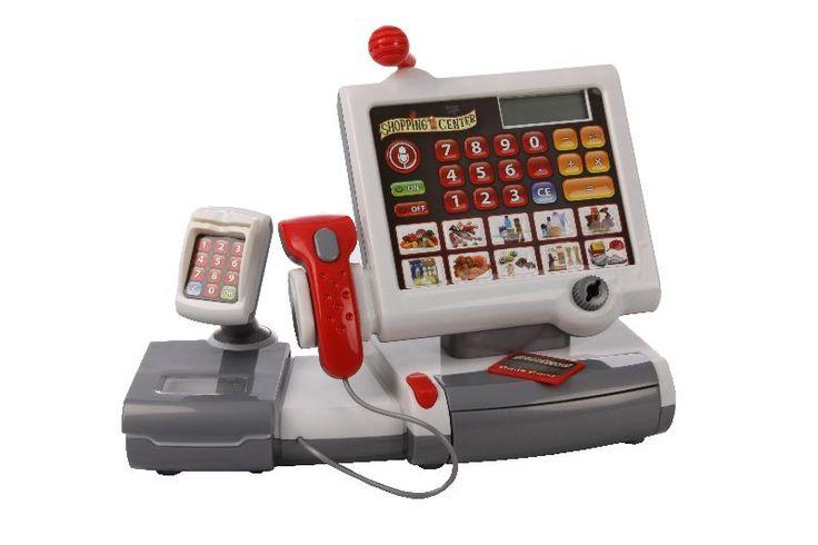 Elektromos Pénztárgép szkennerrel, kiegészítőkkel - Klein toys