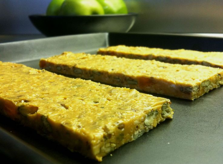 Jordnötsenergibar | Energy bar with peanut butter