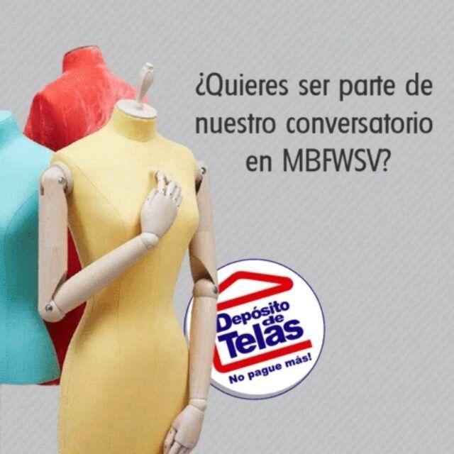 """Participa y gana una entrada a nuestro conversatorio de """"Moda y Tendencias"""" con @alita_chang  @moskem_menswear @kttn.co y más!Anunciaremos al ganador el día Lunes 20 de Marzo, los pasos son sencillos!! 1) Comparte una imagen tuya luciendo el atuendo que llevarias.2) Etiqueta a @Depositodetelas y utiliza el #DDTMBFWSV3) Comenta en tu imagen porque quieres asistir.4) Repostea el gif del concurso en tu cuenta.Recuerda que tu cuenta debe estar publica para que podamos ver tus…"""