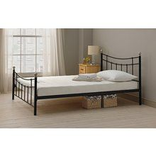 Buy HOME Yani Small Double Bed Frame - Black at Argos.co.uk, visit Argos.co.uk to shop online for Bed frames, Beds, Bedroom furniture, Home and garden