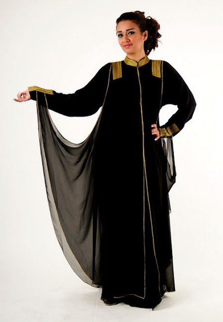New Exclusive & Stylish Abaya Designs For Girls 2015-2016 | Saudi Arabia & Dubai Abaya Fashion | BestStylo.com