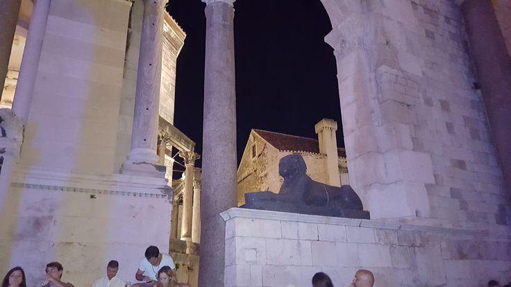 Diakleciánov palac, Split, Croatia
