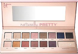 Naturally Pretty Vol 1 Matte Luxe Transforming Eyeshadow Palette. such a good eyeshadow palette with a good variety of shadows!