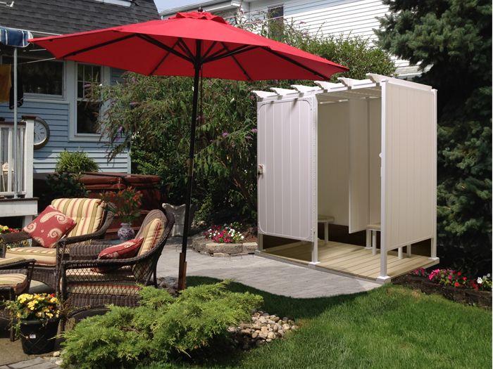 Delightful Outdoor Shower Enclosure Ideas U2013 Fantastic Showers For Your Garden Nice Design