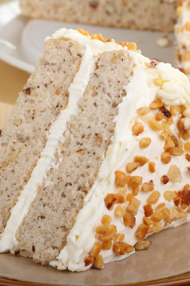 Banana Nut Cake With Cream Cheese Frosting Recipe