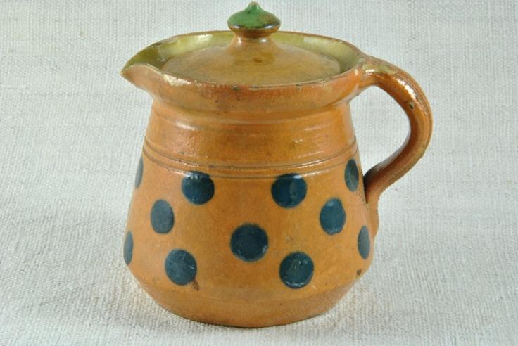 Terracotta Pot   More at www.heurebleueantiques.com