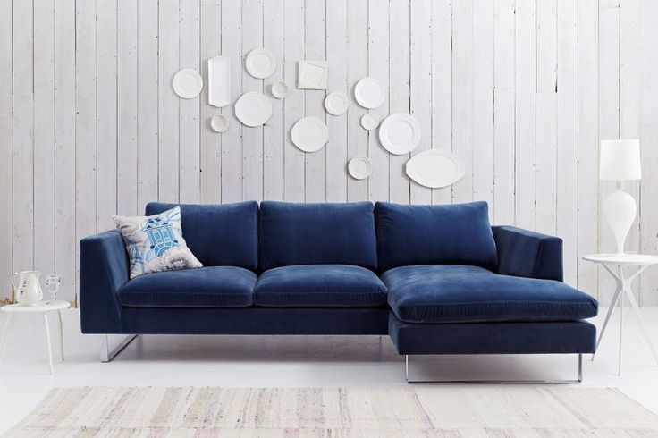 Modern Corner Sofa with Chaise, UK