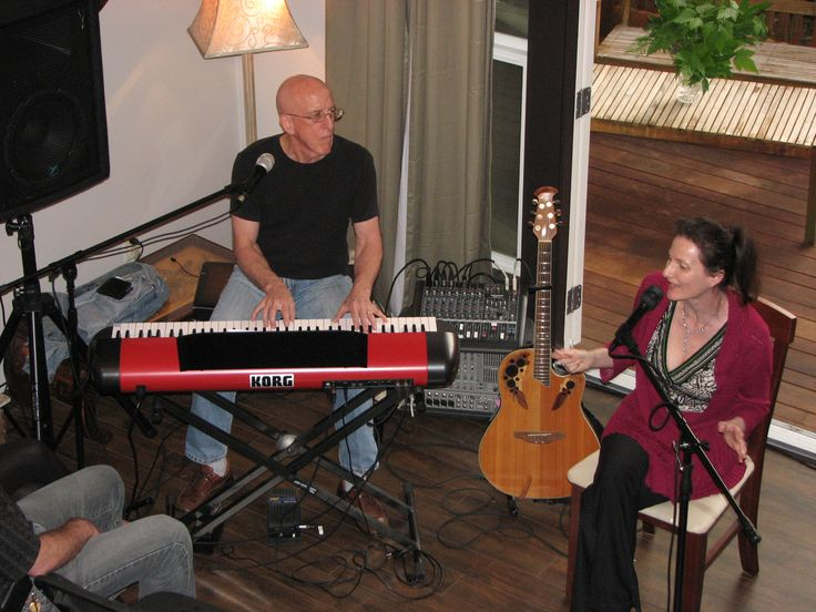 House Concert at John & Cathy Marven house, Maple Ridge, BC,