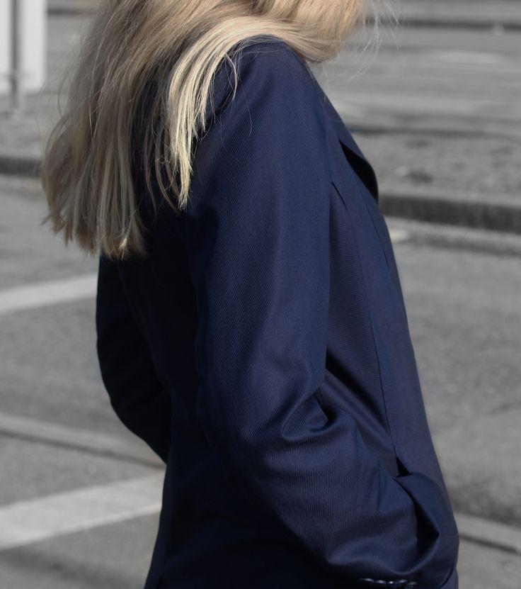 Midnight Blue Blazer http://honeygold.eu/product/midnight-blue-blazer/