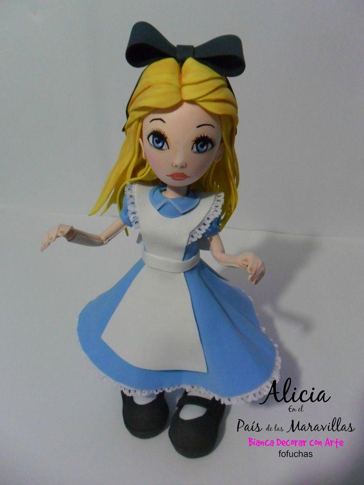Fofucha Alicia magia y fantasía