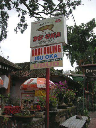Warung Babi Guling Ibu Oka 3, Ubud: See 2,220 unbiased reviews of Warung Babi Guling Ibu Oka 3, rated 3.5 of 5 on TripAdvisor and ranked #225 of 720 restaurants in Ubud.