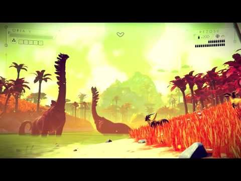 No Man's Sky is a game about exploration and survival in an infinite procedurally generated universe