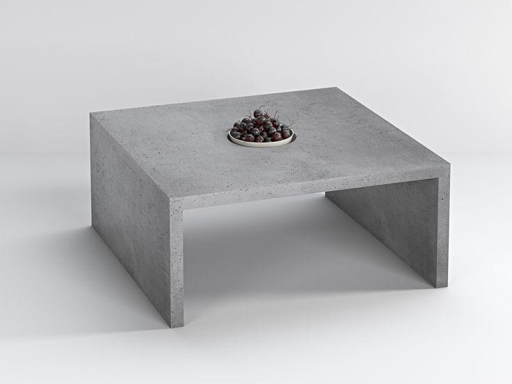 Stolik wykonany z betonu architektonicznego.  Idealnie sprawdzi się w mieszkaniu jak i w ogrodzie. Prosta konstrukcja i unikalny design sprawiają, że produkt staje się niebanalny. Bettoni oferuje stolik w różnych odcieniach betonu oraz indywidualnych wymiarach.