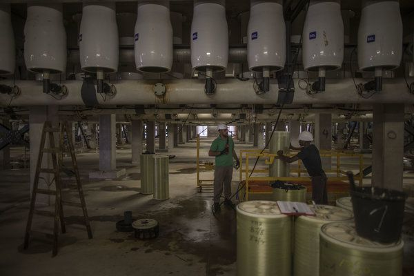 Water revolution in Israel overcomes any threat of drought through desalination…